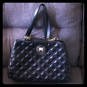Kate Spade Quilted Black Leather Tote